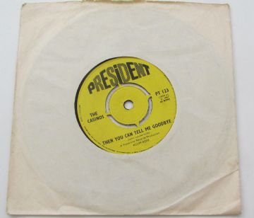 "Casinos (The)  THEN YOU CAN TELL ME GOODBYE UK 7"" EX AUDIO"